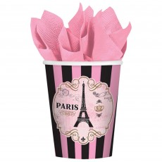 Day in Paris Party Supplies - Paper Cups