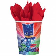 PJ Masks Paper Cups 266ml Pack of 8