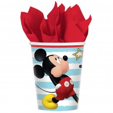 Mickey Mouse On The Go Paper Cups