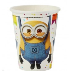 Minions Despicable Me 3 Paper Cups 266ml Pack of 8