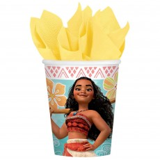 Moana Party Supplies - Paper Cups