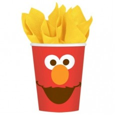 Elmo Turns One Paper Cups 266ml Pack of 8
