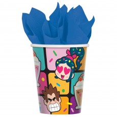 Wreck It Ralph Paper Cups