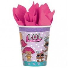 LOL Surprise Paper Cups 266ml Pack of 8