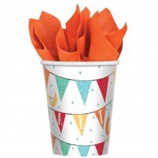 Barnyard Paper Cups Pack of 8