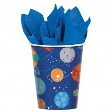 Blast Off Paper Cups 266ml Pack of 8