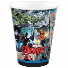 Avengers Party Supplies - Paper Cups Marvel Powers Unite