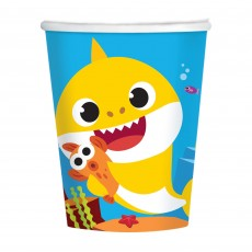 Baby Shark Party Supplies - Paper Cups