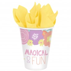 Unicorn Fantasy Party Supplies - Paper Cups Unicorn Party