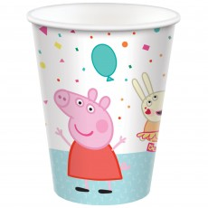 Peppa Pig Confetti Party Paper Cups