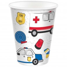 First Responders Party Supplies - Paper Cups