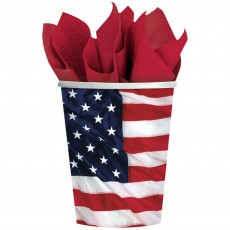 USA Flying Colours Paper Cups
