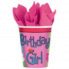 Garden Girl Paper Cups