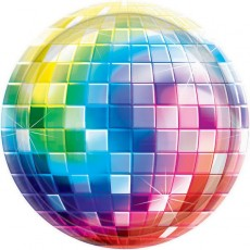 Disco & 70's Disco Fever Dinner Plates