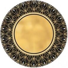 Glitz & Glam Party Supplies - Banquet Plates