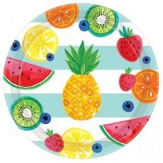 Hawaiian Luau Hello Summer Banquet Plates