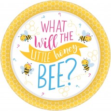 Round What Will It Bee? Banquet Plates 26cm Pack of 8