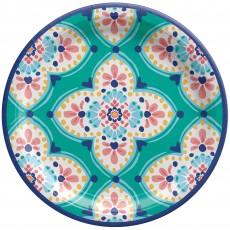 Boho Vibes Paper Dinner Plates