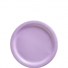 Lavender Party Supplies - Lunch Plates Paper Lavender