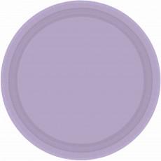 Lavender Party Supplies - Dinner Plates Paper Lavender