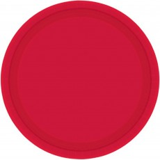 Red Apple Paper Dinner Plates