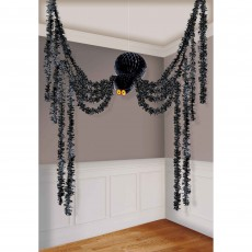Halloween Spider All-In-One Hanging Decoration