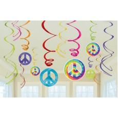 Feeling Groovy & 60's Swirl Hanging Decorations