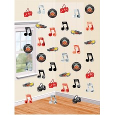Rock n Roll Classic 50's Strings Hanging Decorations
