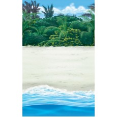 Hawaiian Party Decorations Beach Room Roll Scene Setters