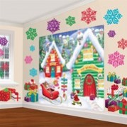 Christmas North Pole Scene Setters