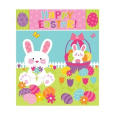 Scene Setter Wall Happy Easter! Decorating Kits Pack of 5