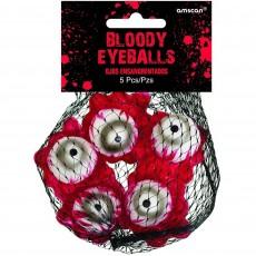 Halloween Party Supplies - Misc Decorations - Asylum Bloody Eyeballs