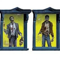 Halloween Zombie Window Magic Misc Decorations