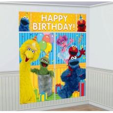 Sesame Street Wall Scene Setters