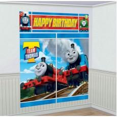 Thomas & Friends All Aboard Happy Birthday Scene Setters 5 Items