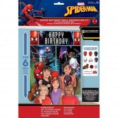 Spider-Man Webbed Wonder Props & Scene Setters Pack of 17