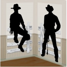 Cowboy & Western Cowboy Add On Scene Setters Pack of 2