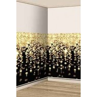 Glitz & Glam Black & Gold Cascading Lights Scene Setter