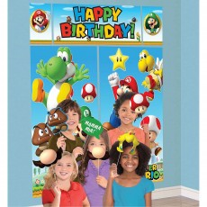 Super Mario Party Supplies - Super Mario Props & Scene Setters Pack