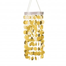 Gold Circles Chandelier Hanging Decoration