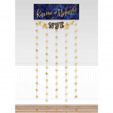 New Year Party Decorations - Midnight New Year's Eve Photo Booth Kit