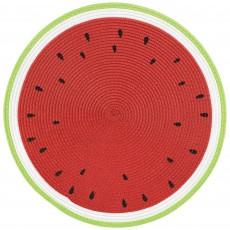 Hawaiian Luau Party Supplies - Watermelon Placemat