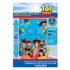 Toy Story 4 Props & Scene Setters Pack of 17