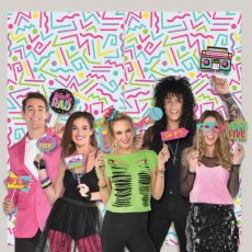 Awesome 80's Photo Props & Scene Setters Pack of 15