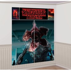 Halloween Stranger Things Wall Scene Setters