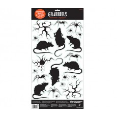 Halloween Rats, Bugs & Cracks Grabber Wall Decoration