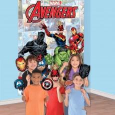 Avengers Marvel Powers Unite Photo Props Scene Setters
