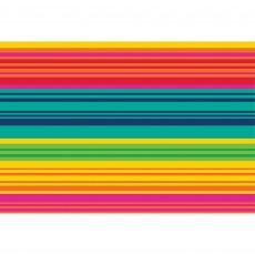 Mexican Fiesta Party Supplies - Serape Striped Placemat