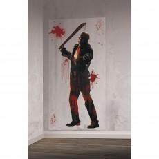 Halloween Friday the 13th Add-On Scene Setter 1.65m x 85cm