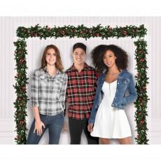 Christmas Pine Galrand Scene Setter
